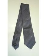Men's Blue Gray Calvin Klein Poka Dot Dress Suit Tie New NWT - $17.85