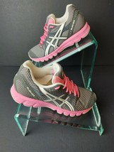 ASICS Women's Rush33 ( T1H7N ) Grey/Pink Sneakers. Size 6.5.    A397 - $32.99