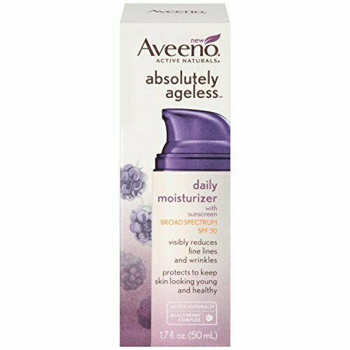 Aveeno Absolutely Ageless Daily Facial Moisturizer, SPF 30, 1.7 fl. oz.