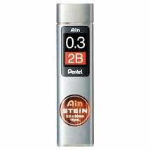 Pentel Mechanical Pencil core replacement Einstein 0.3 2B C273-2B 10 pieces - $22.87