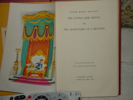 The Little Lame Prince & The Adventures of A Brownie Dinah Maria Mulock ... - $159.00