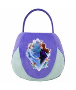 NWT Disney's Frozen ELSA & ANNA Princess Plush Halloween Egg Basket Treat Bucket - $14.95