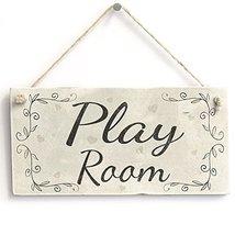Meijiafei Play Room - Rustic Country Decor Door Sign /Plaque Kids Room 1... - $12.86