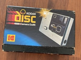 Vintage Kodak *BOX ONLY* for DISC 4000 Camera Outfit AD4R CAT 148 7552 - $3.99