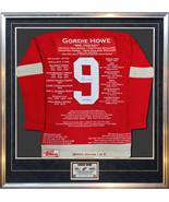 Gordie Howe Special Edition Wool Career Jersey Ltd Ed 1 of 9 - Signed Re... - $4,000.00