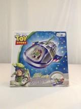 New In Box Disney Pixar Toy Story Buzz Lightyear Spaceship Vehicle Prete... - $21.49