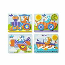 Melissa & Doug Jigsaw Puzzle Set – Vehicles - $24.31