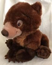 "Disney Store Brother Bear Koda Plush Brown Stuffed Cub 12"" Authentic DS EUC - $21.77"