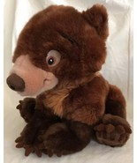 "Disney Store Brother Bear Koda Plush Brown Stuffed Cub 12"" Authentic DS EUC - $19.79"