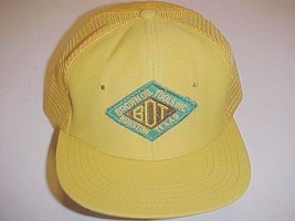 Brown Oil Tools Inc. Houston Texas Adult Unisex Yellow Trucker Mesh One ... - $24.74