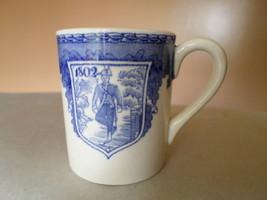 Vintage Demitasse Cup Wedgwood England Coffee Tea Centennial Military Mi... - $24.96