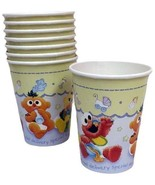 Sesame Street Beginnings Baby Shower Paper Cups Birthday Party Supplies ... - $3.22