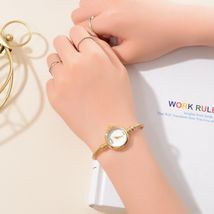 Lvpai® Women Bracelet Watch Luxury Stainless Steel Gold Silver Quartz Gift image 6