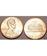 1998-D GEM BU LINCOLN CENTGREAT PRICE~FR/SHI - $1.81