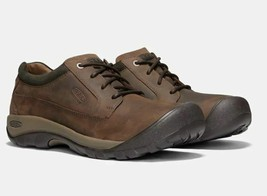 Keen Austin Talla 12 M (D) Eu 46 Hombre Cordones Oxford Zapatos Casual Marrón