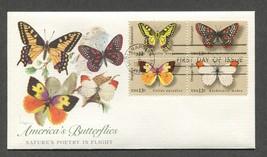 Jun 6 1977 Butterfly Series - Fleetwood FDC #1712-1715 - $3.99