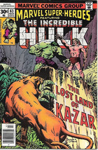 Marvel Super-Heroes Comic Book #63, Marvel Comics 1977 VERY FINE- - $4.75