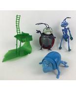 A Bugs Life 4pc Lot Toy Dim Francis Flik Dot Figures Disney McDonalds - $15.79