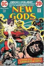 The New Gods Comic Book #11 DC Comics 1972 FINE Last Kirby - $8.79