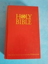 Holy Bible New International Version 84 International Bible Society Red.... - $18.69