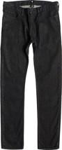 DC Shoes Homme Noir Travailleur Jeans Coupe Slim Nwt