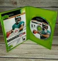 Madden NFL Football 2006 Xbox Microsoft Complete with Manual - $2.99