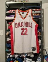 90s Jordan Brand Oak Hill Carmelo Melo Anthony Gifted Talented Jersey XL VINTAGE - $72.46