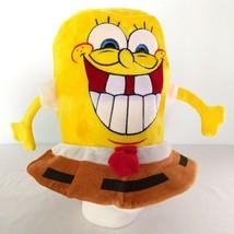 Nickelodeon SpongeBob SquarePants Tall Plush Hat Hands Stephen Hillenbur... - $19.95