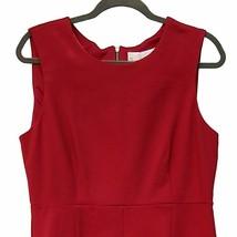 Charles Henry Sheath Dress Red Sleeveless XL NWT - $44.42