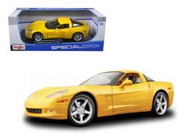 2005 Chevrolet Corvette C6 Coupe 1:18 Diecast Model Car by Maisto - $55.46