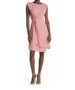 Tommy Bahama Goa Boa Side Twist Dress Tutti Fruiti Coral Size L Large NWT - £25.07 GBP