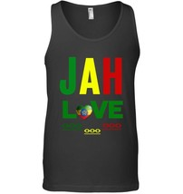 Jah Love Ethiopia Love Rastafari Love One Love Rasta Tank Top - $23.99+