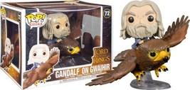 Lord of the Rings Gandalf on Gwaihir Vinyl POP! Rides Figure #72 FUNKO N... - $29.02