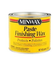 Minwax 785004444 Paste Finishing Wax, 1-Pound, Natural