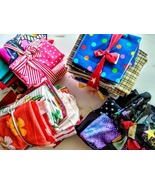 Treasure Trove of Colorful Fabrics & Trims - $65.00