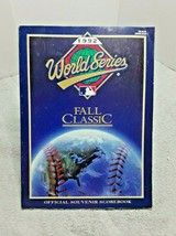 1992 World Series Program Braves Blue Jays vintage - $11.30