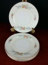 """5 dessert/bread plate Homer Laughlin Eggshell Georgian 6.25"""" dinnerware ... - $6.92"""