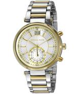 Michael Kors MK6225 Sawyer Silver Dial Two-tone Ladies Watch - $240.62