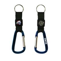 Non Metal Nfl Los Angeles Rams Navi-Biner Key Ring By Rico Industries (Length=5. - $15.12