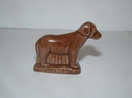 WADE ENGLAND - Rose Tea Miniature Figurine - Brown Lab - $15.00