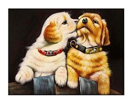 DIY Dog Beads Stick Painting Home Decor Making Supply No Frame - $24.65