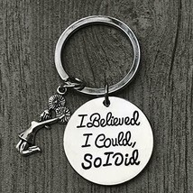 Cheer Keychain I Believed I Could So I Did Cheerleading Gift Girls Cheer... - $9.99