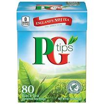 PG Tips Pyramid Bags, Premium Black Tea, 80 ct - $5.94