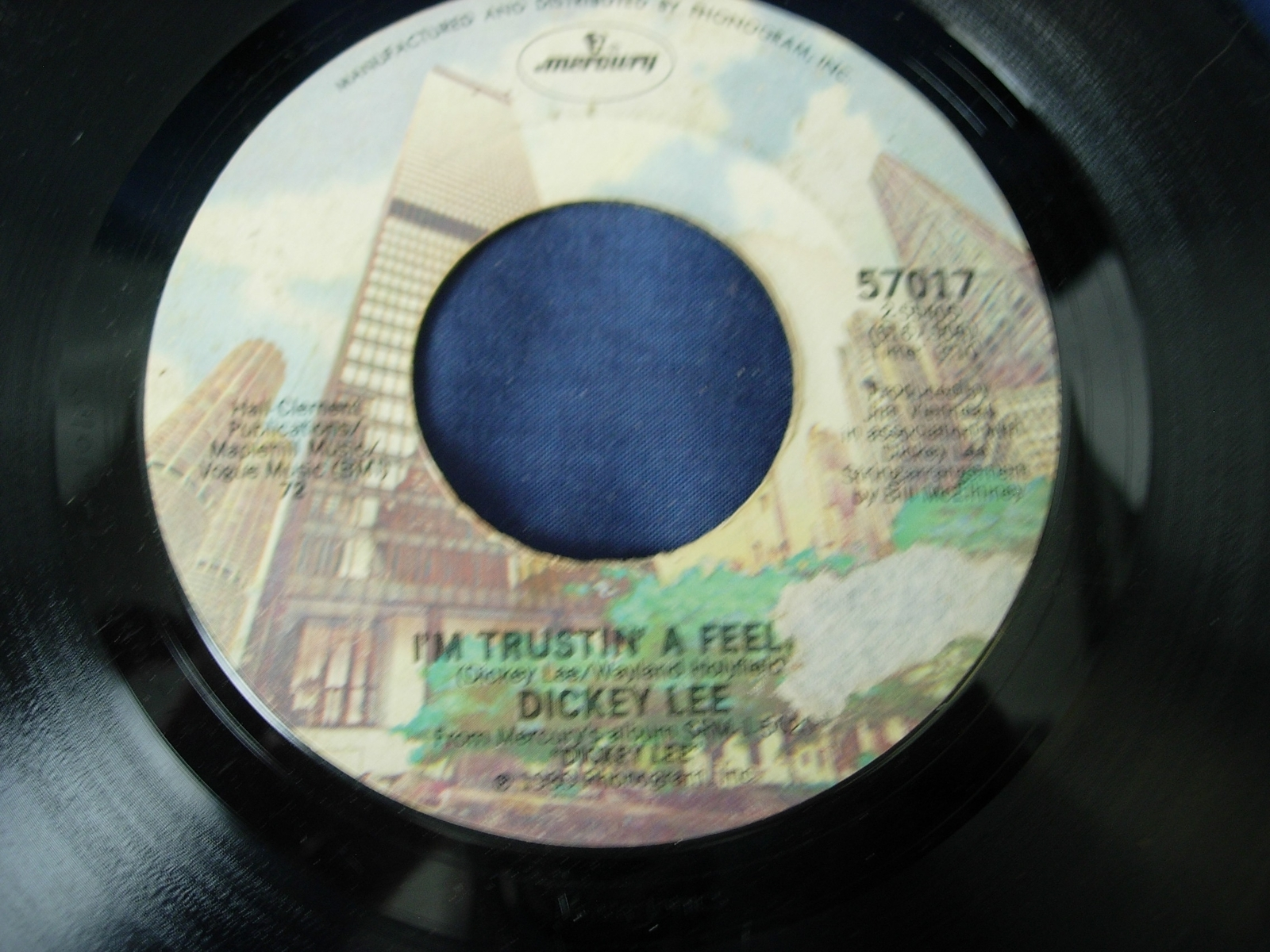 Dickey Lee - Don't Look Back / I'm Trustin - Mercury Records 57017