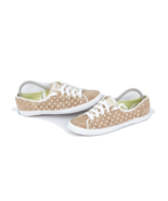 Keds Womens Size 9.5 Polka Dot Cork Lace Up Sneakers Shoes Brown - $62.32
