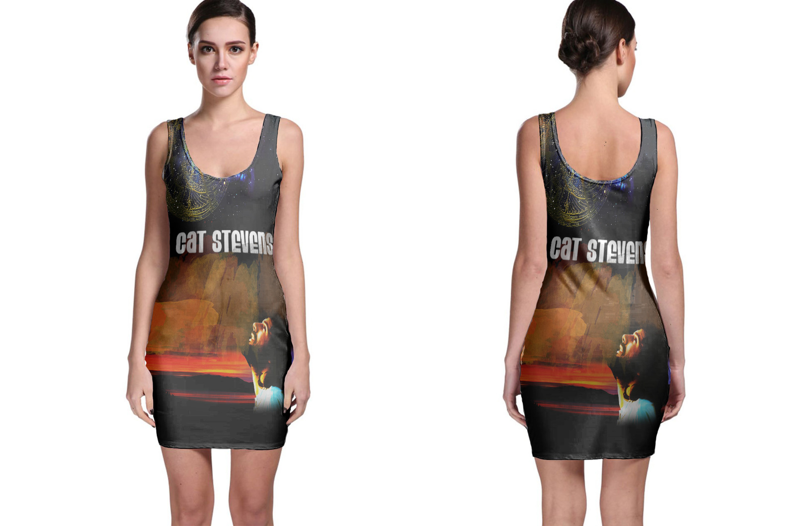 Cat stevens bodycon dress