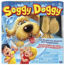 Soggy Doggy Board Game, Interactive Fun showering Shaking Dog game for kids - $30.00
