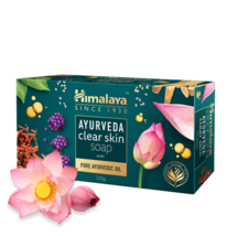 Himalaya AYURVEDA clear skin bar soap - 125g - $14.00