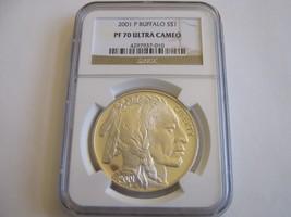 2001-P , American Buffalo , NGC , PF 70 , Ultra Cameo , Buffalo S$1 - $985.05
