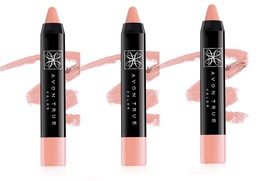 Avon True Color Lip Crayon - Fairest Nude - Lot of 3 - $23.50
